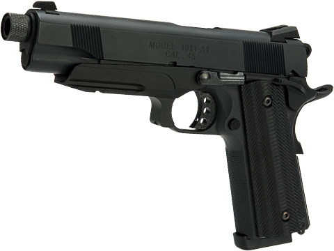 Unicorn Precision Inc x Angry Gun Custom 1911 GBB Pistol (Version: Deluxe Version / Tactical Grey)