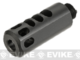 Avengers Airsoft CNC Flash Hider Compensator (Thread: 16mm Negative Male)