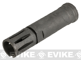 Avengers Airsoft XM177 Style Flash Hider Compensator - 14mm Negative