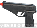 UKArms Lancer Tactical P139B Airsoft Spring Powered Pistol - Black