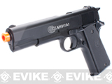 Colt Licensed Full Size M1911A1 Airsoft Spring Pistol with Metal Slide