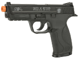 Smith & Wesson Licensed M&P40 Full Size Airsoft Spring Pistol (Color: Black)