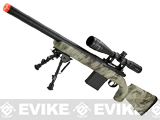 APS M50 Shell Ejecting Co2 Powered Airsoft Gas Sniper Rifle 500~590 FPS (Model: Kryptek Highlander)