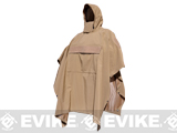 Hazard 4 Poncho Villa Technical Soft-Shell Poncho - Coyote