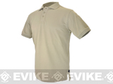 Hazard 4 Undervest Polo Shirt - Tan / Medium