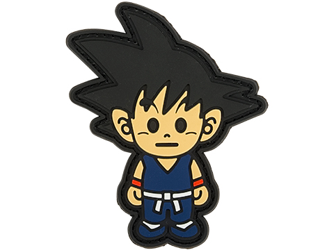 Aprilla Design PVC IFF Hook & Loop Pop Culture Series Patch (Model: Goku)