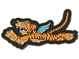 Aprilla Design PVC IFF Hook & Loop Patch - Flying Tiger