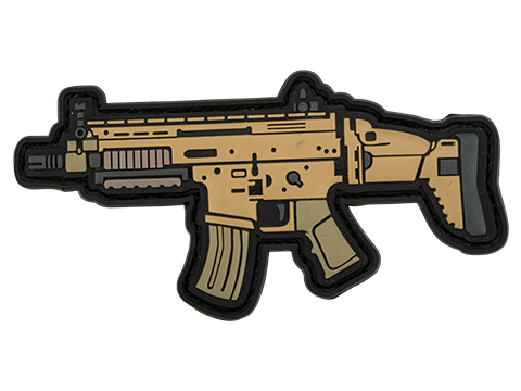 Aprilla Design PVC IFF Hook and Loop Modern Warfare Series Patch (Gun: SCAR 16)