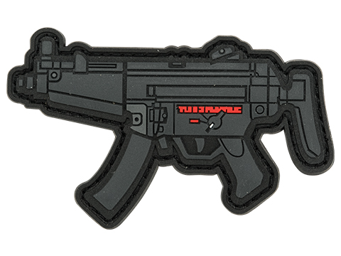 Aprilla Design PVC IFF Hook and Loop Modern Warfare Series Patch (Gun: MP5)