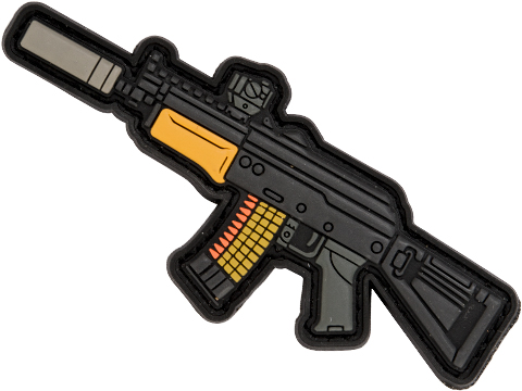 Aprilla Design PVC IFF Hook and Loop Modern Warfare Series Patch (Gun: AK74u)