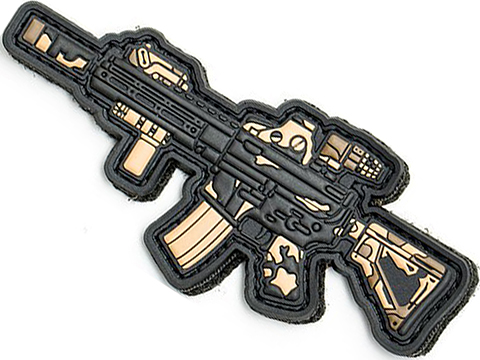 Aprilla Design PVC IFF Hook and Loop Modern Warfare Series Patch (Gun: 416 Limited Edition)