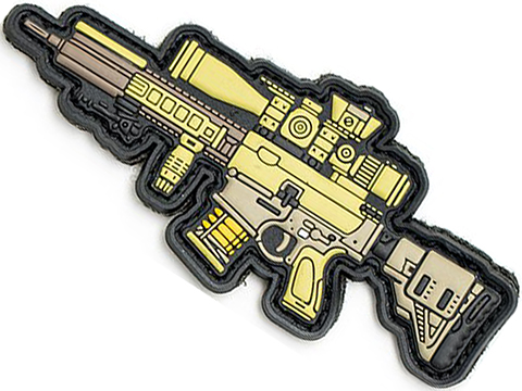 Aprilla Design PVC IFF Hook and Loop Modern Warfare Series Patch (Gun: G28)