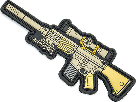 Aprilla Design PVC IFF Hook and Loop Modern Warfare Series Patch (Gun: M110)