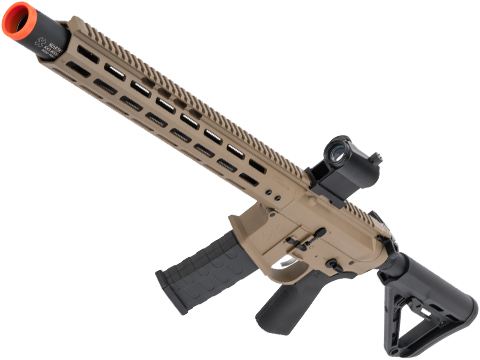 EMG NOVESKE Gen 4 w/ eSilverEdge SDU2.0 Gearbox Airsoft AEG Training Rifle (Model: Infidel / Flat Dark Earth)
