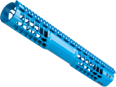 EMG F-1 Firearms Officially Licensed BDR Keymod Handguard for M4/M16 Series Airsoft AEGs (Color: Blue / 14.75)