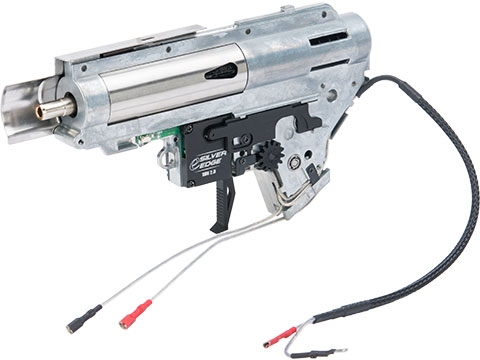 APS eSilver Edge SDU 2.0 Gearbox for Ver.2 M4 Airsoft AEG Rifles (Model: Rear Wired)