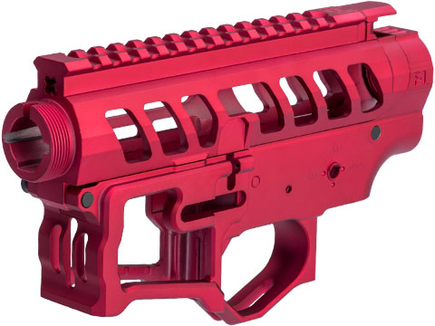 EMG F-1 Firearms Officially Licensed UDR-15-3G Full Metal M4 Receiver Set (Color: Red)