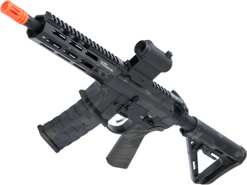 EMG NOVESKE Gen 4 w/ eSilverEdge SDU2.0 Gearbox Airsoft AEG Training Rifle (Model: Pistol / Multicam Black)