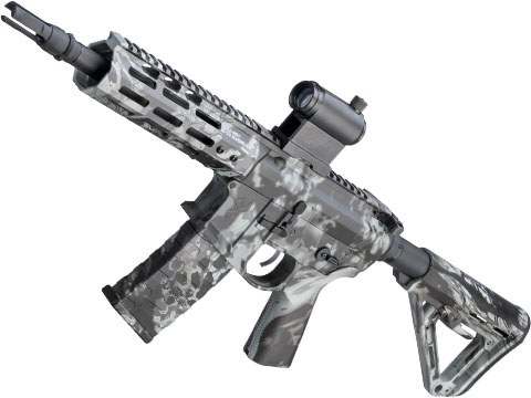 EMG NOVESKE Gen 4 w/ eSilverEdge SDU2.0 Gearbox Airsoft AEG Training Rifle (Model: Pistol / Kryptek Obskura Grey)