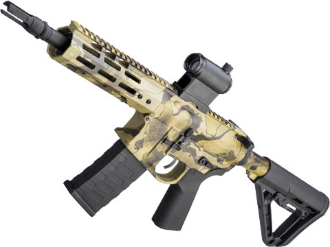 EMG NOVESKE Gen 4 w/ eSilverEdge SDU2.0 Gearbox Airsoft AEG Training Rifle (Model: Pistol / Kryptek Favlos)