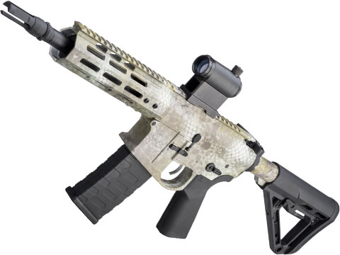 EMG NOVESKE Gen 4 w/ eSilverEdge SDU2.0 Gearbox Airsoft AEG Training Rifle (Model: Pistol / Kryptek Kratos)