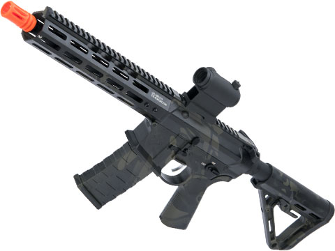 EMG NOVESKE Gen 4 w/ eSilverEdge SDU2.0 Gearbox Airsoft AEG Training Rifle (Model: Shorty / Multicam Black)