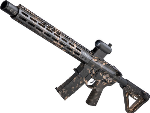 EMG NOVESKE Gen 4 w/ eSilverEdge SDU2.0 Gearbox Airsoft AEG Training Rifle (Model: Infidel / Kryptek Obskura Nox)