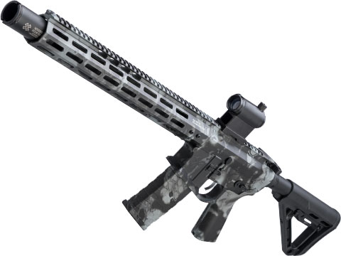 EMG NOVESKE Gen 4 w/ eSilverEdge SDU2.0 Gearbox Airsoft AEG Training Rifle (Model: Infidel / Kryptek Obskura Grey)