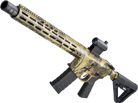 EMG NOVESKE Gen 4 w/ eSilverEdge SDU2.0 Gearbox Airsoft AEG Training Rifle (Model: Infidel / Kryptek Favlos)