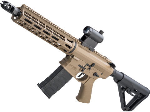 EMG Falkor Phantom AR-15  w/ eSilverEdge Gearbox M4 Airsoft AEG (Color: Tan / RS-3 Stock - 350FPS)