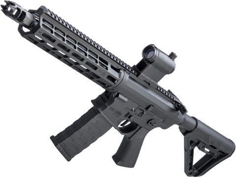 EMG Falkor Phantom AR-15  w/ eSilverEdge Gearbox M4 Airsoft AEG (Color: Black / RS-3 Stock - 350FPS)