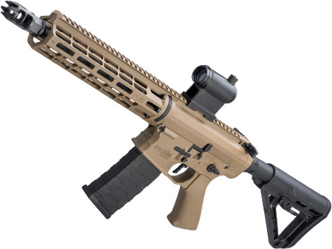 EMG Falkor Phantom AR-15  w/ eSilverEdge Gearbox M4 Airsoft AEG (Color: Tan / RS-3 Stock)
