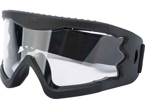 Hakkotsu High Peripheral X-Eye 260 Degree Wide Angle Goggle Set (Color: Black / Goggle Only)
