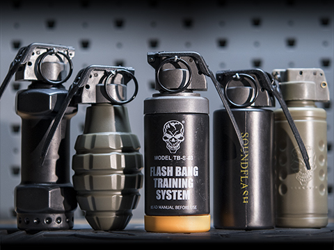 Thunder B Airsoft Co2 Simulation Grenade