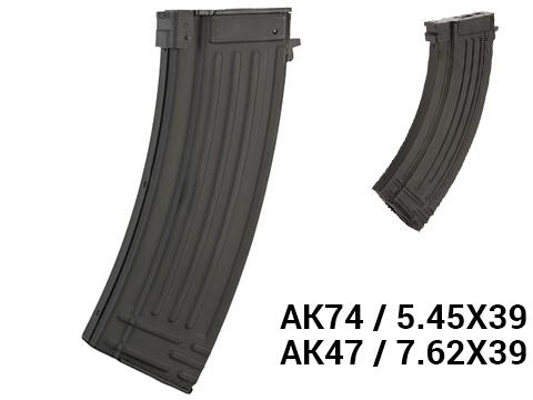 APS 500rd Stamped Metal Hi-Cap Magazine for AK Series Airsoft AEG Rifles (Type: AK74 / 5.45x39)