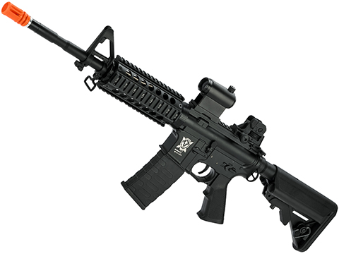 APS Full Metal M4 RIS Non-Blowback Standard Airsoft AEG Rifle (Hybrid Gearbox)