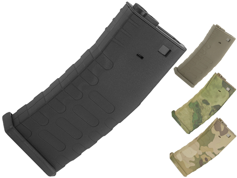 APS 300rd U-Mag Hi-Capacity Magazine for M4 / M16 / UAR Series Airsoft AEG Rifles (Color: Black)