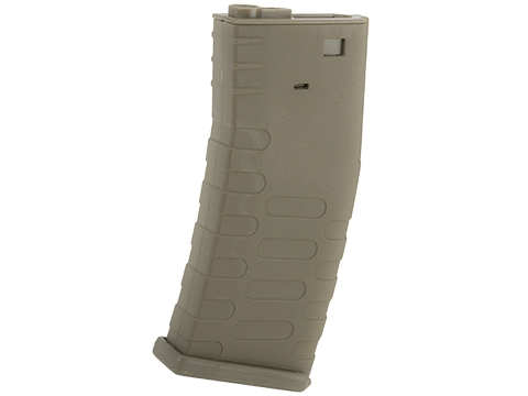 APS 300rd Hi-Capacity Magazine for M4 / M16 / UAR Series Airsoft AEG Rifles (Model: U-Mag / Dark Earth)