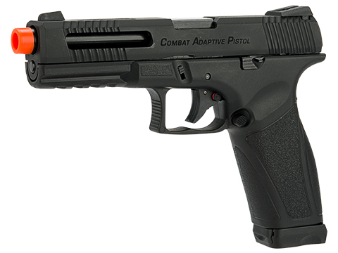 APS A-CAP Combat Adaptive Pistol CO2 Powered Airsoft Blowback Pistol - Black