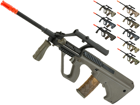 APS AUG A1 Military Airsoft AEG Rifle w/ Integrated Scope