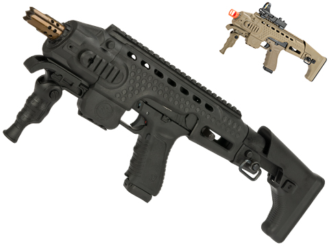 APS Action Combat Carbine Complete Gas Blowback Airsoft Compact SMG Rifle