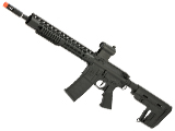 APS ASR115 2.0 eSilverEdge Full Metal 12.5 M4 AR15 Airsoft AEG Rifle (Color: Black / RS1 Stock)