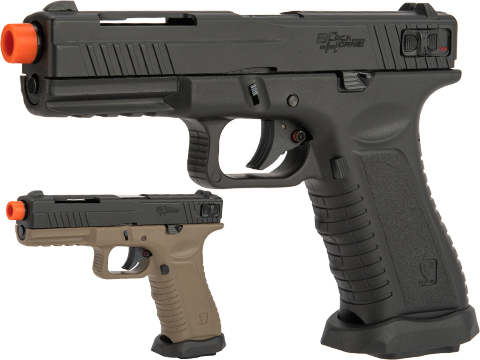 APS XTP Black Hornet Full Auto CO2 Powered Airsoft GBB Pistol