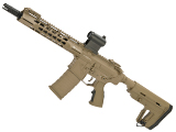 APS Phantom Extremis Mark I 2.0 eSilverEdge M4 AEG with 10 Keymod Handguard (Color: Tan)