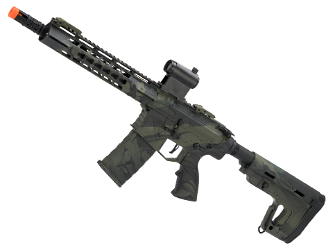 APS Phantom Extremis Mark I M4 AEG with 10 Keymod Handguard (Color: Mulitcam Black)