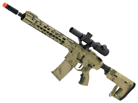 APS Phantom Extremis Mark II 2.0 eSilverEdge M4 AEG with 12.5 Keymod Handguard (Color: ATACS FG)