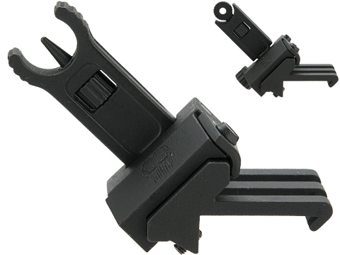 APS Phantom 45 Degree Offset Iron Sight for Airsoft Rifles (Model: Front)