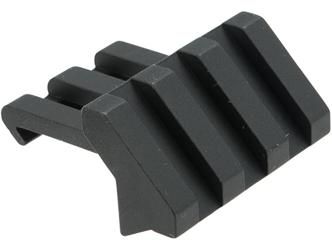 APS Aluminum Offset Picatinny Rail Mount (Model: 3 Slots)