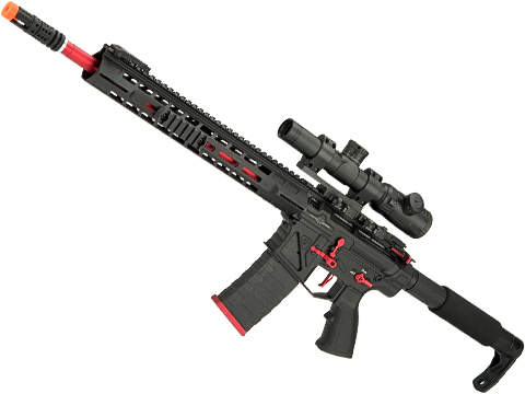 APS Phantom Extremis Mark III 2.0 eSilverEdge M4 AEG with 15 MLOK Handguard (Color: Black)