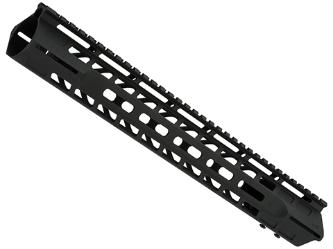 APS Phantom 13.5 4.0 M-LOK Handguard for M4/M16 Series Airsoft AEGs (Color: Black)